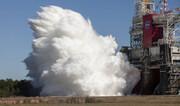 ناسا یک گام دیگر به ماه نزدیک شد| ویدئو| روشن شدن موتورهای موشک غولآسا