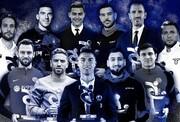 عکس | رونالدو؛ بهترین بازیکن کالچو | گاسپرینی و تیمش هم بهترین شدند