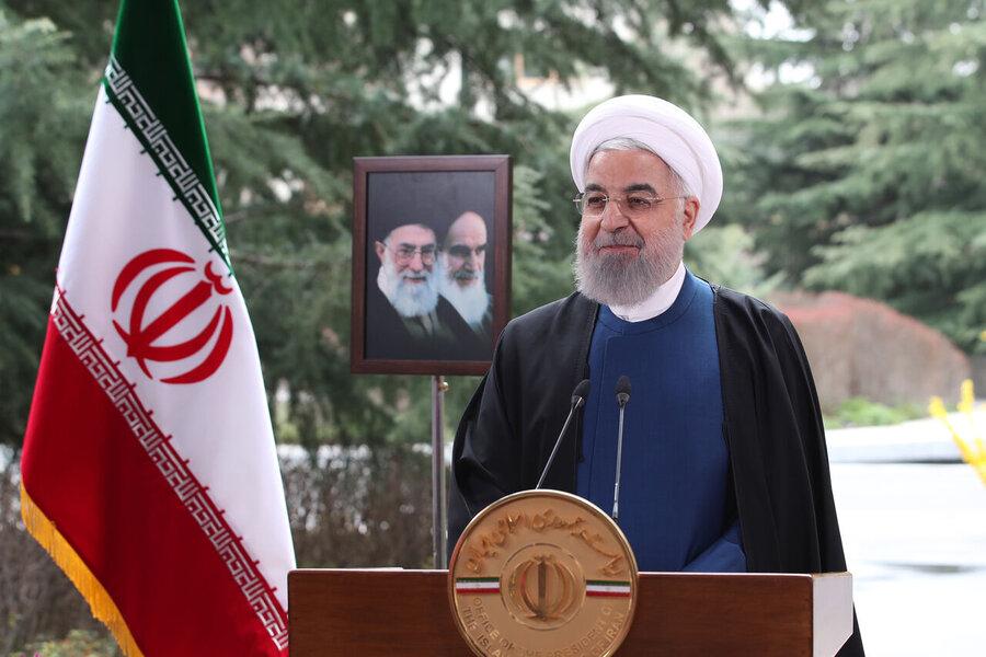رئیس جمهور در پیام نوروزی: ۱۴۰۰، سال پایان تحریمها خواهد بود