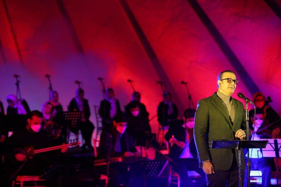 تصاویر | دومین شب کنسرت رایگان علیرضا قربانی در میدان آزادی