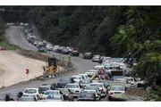 ترافیک آخر هفته در جادههای مازندران