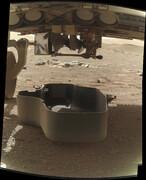 ویدئو | نخستین عکسهای ناسا از بالگرد «نبوغ» چسبیده به مریخنورد استقامت