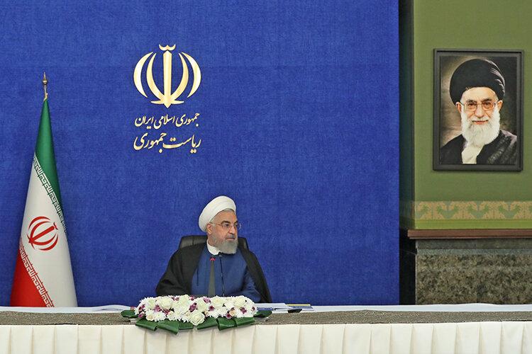 روحاني در جلسه شوراي عالي اشتغال دوم فروردين 1400