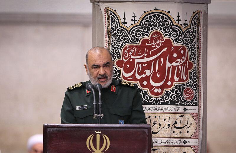 سرلشكر سلامي فرمانده سپاه