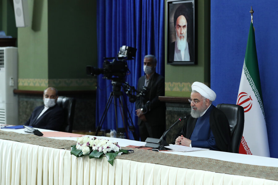به زودی از خلیج فارس به دریای عمان نفت صادر می شود | درخواست دوباره روحانی از مجلس برای تصویب لوایح دولت