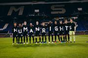 عکس   واکنش تیمهای ملی آلمان و نروژ به نقض «حقوق بشر» در قطر