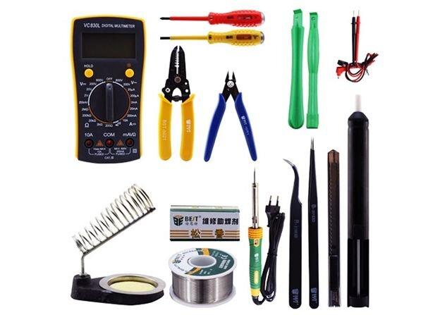 ست کامل لوازم تعمیرات موبایل را از امگا ابزار بخرید
