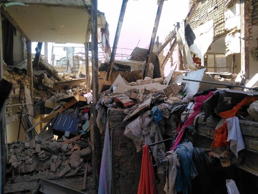 انفجار در محله جوانمرد قصاب