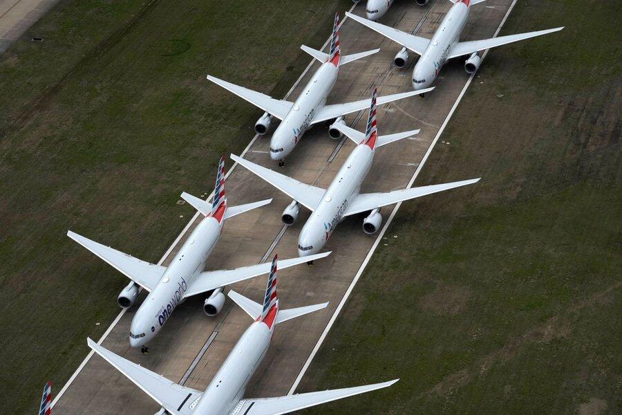 پارکینگ هواپیما