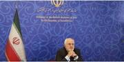 عکس | حضور ظریف در نشست مجازی شورای وزیران دی-۸