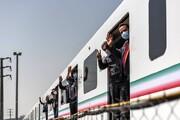 تصاویر | رونمایی از قطار ملی مترو