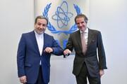 تصاویر | عراقچی بعد از دیدار با گروسی: همکاری ایران با آژانس ادامه دارد | درباره برداشت یکجای تحریمها در حال مذاکرهایم