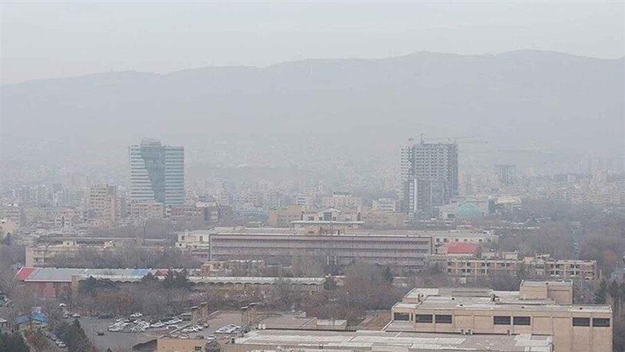 افزایش آلودگی هوای تبریز
