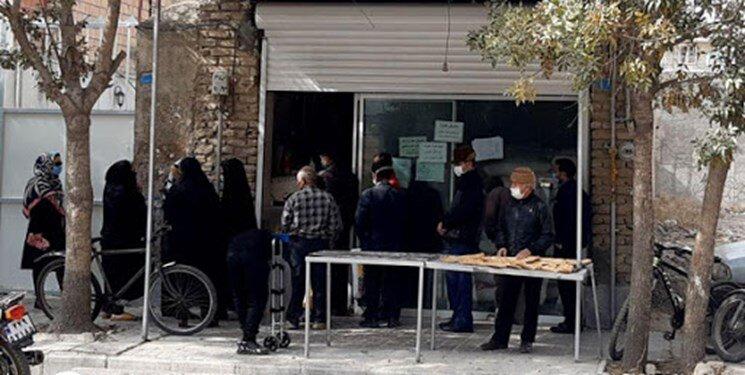 ساماندهی صفهای طولانی خرید نان در خراسان شمالی