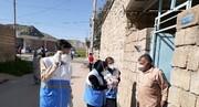 چرخه فعال ویروس در روستاهای کرونازده