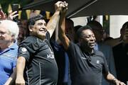 خاطره جالب پله از مارادونا   کریخوانی دیهگو برای اسطوره فوتبال برزیل