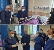 معاون درمان وزارت بهداشت به گیلان سفر کرد| بستری ۸۶۰ بیمار مبتلا به کرونا