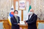 تصاویر | متن و حاشیه دیدار نخست وزیر کره جنوبی با قالیباف و لاریجانی