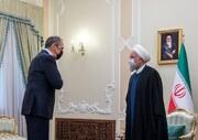 تصاویر | متن و حاشیه دیدار روحانی و لاوروف | رعایت پروتکلهای بهداشتی در دیدار با رئیس جمهور
