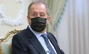 عکس | دیدار وزیر خارجه روسیه با رئیس مجلس