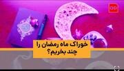 ویدئو | خوراک ماه رمضان را چند بخریم؟