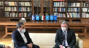 عکس | نشست سهجانبه ایران، چین و روسیه در حاشیه مذاکرات برجام