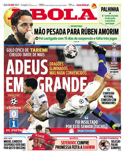 عکس | واکنش رسانه های پرتغال به گل طارمی | قیاس مهدی با کریس رونالدو