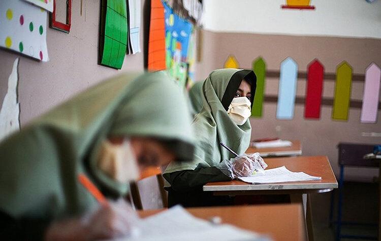 امتحان مدارس در شرايط كرونا