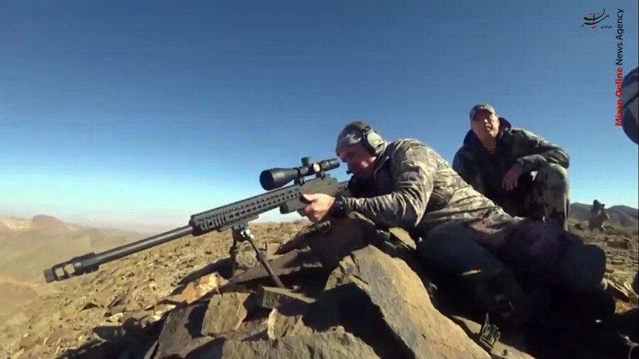 شکارچی روس در یزد