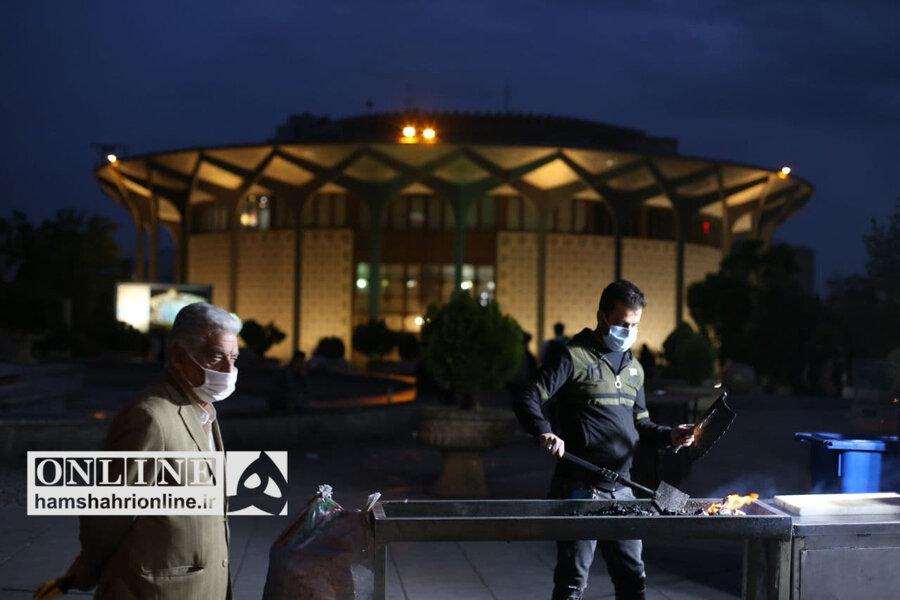 تصاویر | تهران در شب اول رمضان۱۴۰۰