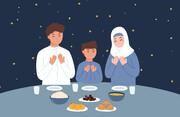 اینفوگرافیک | ۸ توصیه برای داشتن یک افطار سالم