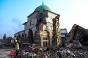 معماران مصری مسجد تاریخی موصل را بازسازی میکنند
