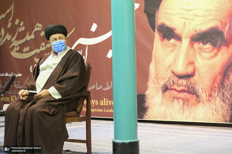 اظهارات سید حسن خمینی بعد از انصراف از نامزدی در انتخابات | نگران رد صلاحیت نبودم | باید به فهم مردم امید داشت