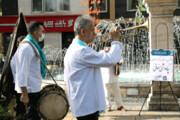 چاووشی خوانی در قلب تهران