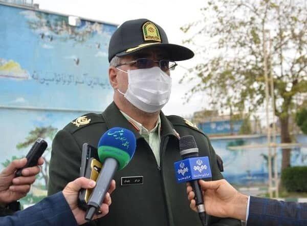 سردار جاویدان، فرمانده انتظامی کرمانشاه