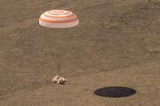 عکس روز| بازگشت سایوز به زمین