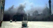 آتشسوزی جزئی در مسجد جمکران