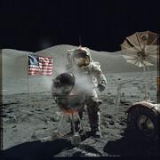 عکس روز| دیدار دوباره از ماه