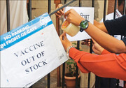 انبارهای بزرگترین تولیدکننده واکسن خالی شد