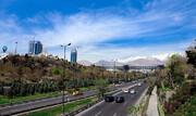 پایداری هوای تهران در وضعیت قابل قبول قبول | پایتخت گرم میشود