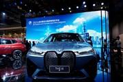 عکس | خودروی برقی «ب ام و» با قیافه عجیب که در نمایشگاه شانگهای رونمایی شد