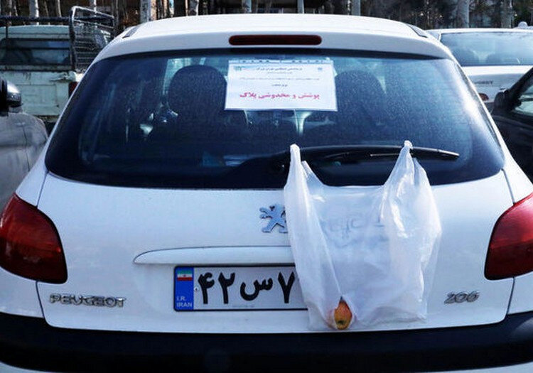 آغاز طرح ویژه برخورد پلیس تهران با پلاکهای مخدوش |برخورد با ۲۴۰۰ راننده متخلف در یک روز!