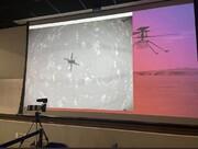 پرواز تاریخی بالگرد «نبوغ» در سیاره سرخ انجام شد