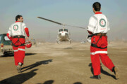 ساخت جایگاه فرود اضطراری بالگرد در بوستان لواسانی