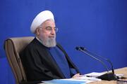 روحانی: کرونا را دستمایه مسائل سیاسی و انتخاباتی قرار ندهیم | در حال عبور از پیک چهارم هستیم