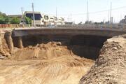 بلوار جانبازان از بنبست خارج میشود | افتتاح تقاطع بزرگراه بروجردی با میدان جانبازان تا پایان بهار