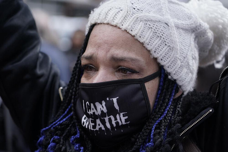 واکنش سیاهپوستان آمریکا به حکم دادگاه قاتل جورج فلوید