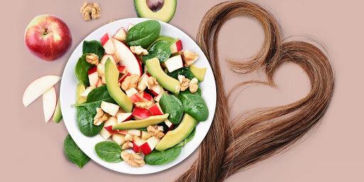 hair/ food