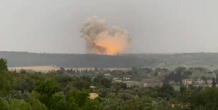 انفجار فلسطین