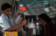 عکس روز | اکسیژن برای بیماران کرونایی